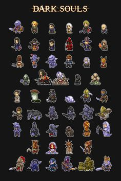 Pixel Art Dark Souls