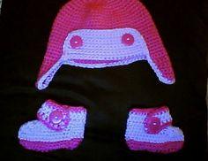 Baby set 6-pink aviator