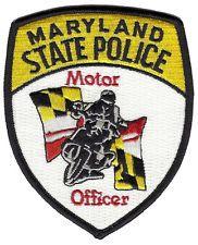 Maryland State Police Motor Officer Shoulder Patch
