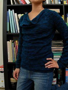 JoleneL's Drape: Pivot by Cookie A knit in Baah La Jolla Singin' the Blues