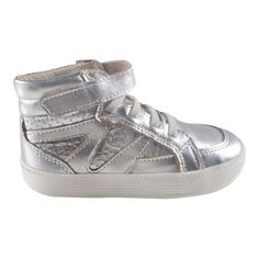 Star Jumper Shoes, Silver