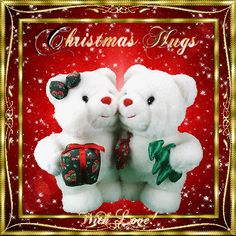 Season's Greetings/Holiday Cheer section. Send this christmas hugs to your friends & family with your love.