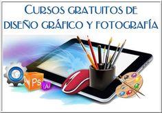 Cursos gratuitos de diseño gráfico y fotografía #cursosonline