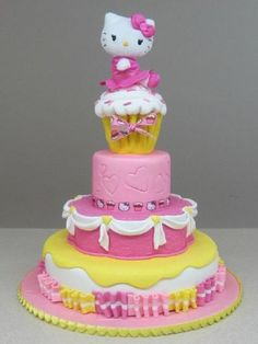 ハローキティ Hello Kitty Cake