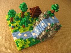 Minecraft Lego Custom Build
