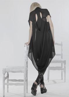 MINIMAL TO SS'14 #black #fashion #clothing