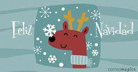 Imagenes y frases de Feliz Navidad para Facebook, Twitter, Google+, Orkut - Saluda gratis a traves de todas las redes sociales en Correomagico.com