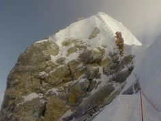 Is the Hillary Step Gone From #Everest? via @kungfujedi #mountains #Nepal #Himalayas