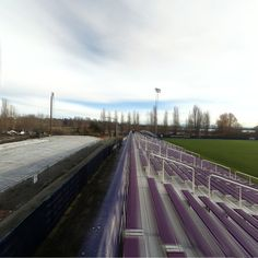 360 of the Husky Soccer Field and the New Track Construction