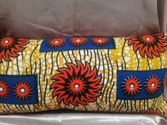 2 way patchwork style oblong bolster CUSHION with by TamiahDesigns, $23.20