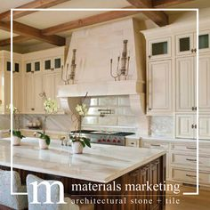These are the finishing touches that turn your house into a home. Why be limited when an elegant stone kitchen hood can bring warmth and character to your kitchen. Kitchen Hood Design, Kitchen Hoods, Stone Kitchen, Kitchen Fixtures, Beautiful Kitchens, Contemporary Architecture, Home Decor Styles, Hearth, Home Interior Design