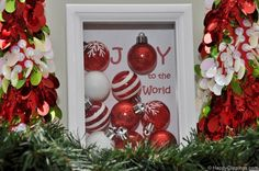 The Purple Pumpkin Blog: 12 Ideas for Christmas Shadow Boxes-must make one!