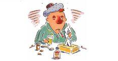 5 pilierov prvej pomoci pri liečbe nádchy, chrípky a prechladnutia