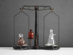 Vintage Balance Scale - Mid Century Modern, Antique, Metal. $249.00, via Etsy.