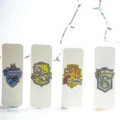Which one is your favorite???These are coming very soon and we can't wait for you guys to see it! . I don't know how we waited so long to add the Harry Potter collection to the store since they are so adorable! But they are coming I promise!  Which one is your favorite????? #harrypotter #bookmarks #bookstagram #bookworm #etsy #etsyshop