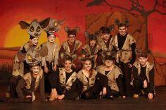 hyena vests and ears