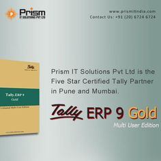 #tallyerp9gold #unlimitedusers For more details please visit us at http://www.prismitindia.com/ or Contact us on 020-67246724