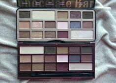 Splurge or save? #3 Too Faced 'Chocolate Bar' palette vs I ♡ Makeup 'I Heart Chocolate' palette