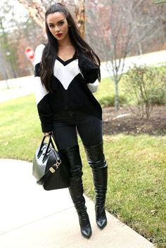Que el color negro no falte en tu ropero.