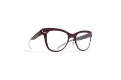 "#Gafas de @MYKITAofficial DECADES ""LUELLA"" in Burgundy #eyewear"