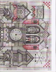 Cross stitch pattern The Nutcracker Factory 02