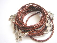 Wrap Leather Bracelet by accessory8 on Etsy, $19.00