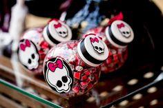Chic Monster High Ideias Planejamento Fontes do Partido Idea Decorações de bolo