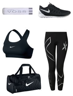 """""""Sports Luxe"""" by maikeirving on Polyvore featuring NIKE and 2XU"""