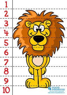 1 million+ Stunning Free Images to Use Anywhere Numbers Preschool, Preschool Math, Preschool Worksheets, Kindergarten Math, Montessori Activities, Educational Activities, Preschool Activities, Number Puzzles, Puzzles For Kids