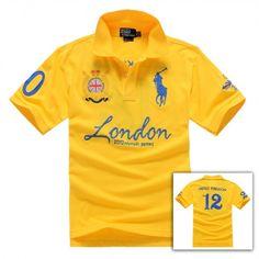 Ralph Lauren Olympics, Polo Ralph Lauren, Mens Polo T Shirts, Tee Shirts, Polo Shirt Embroidery, Ralph Luaren, Concept Clothing, Polo Shirt Design, Dope Shirt