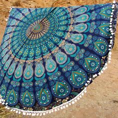 Home Decor Round Tapestry, Wholesale Round Tapestry, Decor Printed Round Mandala Beach Towel. Hippie Bedding, Bohemian Bedspread, Mandala Throw, Mandala Tapestry, Bohemian Print, Hippie Bohemian, Boho, Indian Tapestry, Beach Blanket