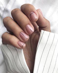 the stunning summer nail art designs for short nails 82 ~ thereds.me - the stunning summer nail art designs for short nails 82 ~ thereds. Classy Nails, Trendy Nails, Cute Nails, Minimalist Nails, Acrylic Nail Designs, Nail Art Designs, Nails Design, Acrylic Nails, Coffin Nails