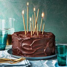 Triple-Layer Chocolate-Caramel Cake