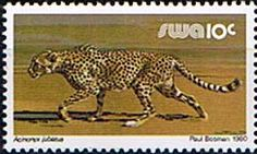 Postage Stamps South West Africa 1980 Wildlife Animals Set Fine Mint    SG 349 65 Scott 447 63 Stamps for sale Take a Look