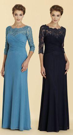 Sheath-Column 3/4 Length Sleeve Zipper Mother Dress 2036#motherdresses#customdresses #cocomelody #sheathcolumndresses  #designercollections