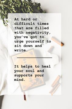 Journaling - How it helps to settle your thoughts and grow your mind. #soul #healing #mindful #writing