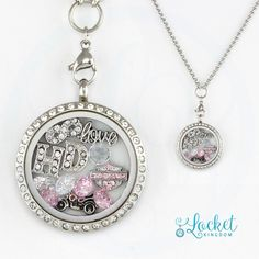 Perfect Necklace For Motorcycle Fans! Not Sold In Stores! Get 50% OFF Today! (Regularly $59.95) Material: Stainless Steel Locket and Chain Locket Size: 30 mm Chain Size 30 inches **All Charms In Pictu
