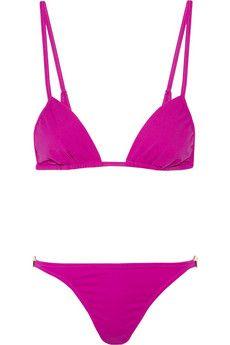 Melissa Odabash Odabash & Macdonald Pat C triangle bikini