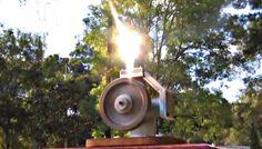 Stirling Engine Solar Fresnel Lens Powered Alpha Hot Air Motor Andy Ross...