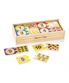 Look at this Melissa & Doug Number Puzzle Set on #zulily today!