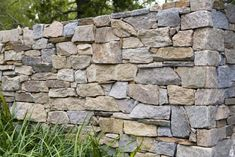 Eco Outdoor - Walling - Dry Stone - Alpine Fire place, garden retaining walls and pool wall feature Garden Retaining Wall, Stone Retaining Wall, Stone Fence, Garden Fencing, Retaining Walls, Dry Stone, Brick And Stone, Stone Work, Stone Walls