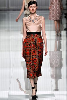 Christian Dior Fall 2012 Ready-to-Wear (Look 30)