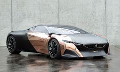 Stunning Peugeot Onyx Supercar Concept