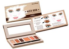 Our Natural Beauty Match Book kit. All in One kit with eyeshadow, eyeliner, blush, 2 lip glosses and 2 brushes along with guided instructions for $28 #helloperfect #tintecosmetics