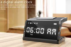 "Touchscreen Alarm Clock ""singNshock"""