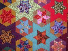 Big stars and little stars........Kaffe Fassett quilt 101_0218 love the colors