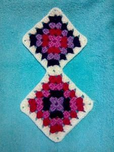 CENTRO MANTA HUECO ZIG ZAG.  This is a pic tutorial for another pin.. I'll try to link the two when I have time.