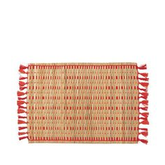 Beachy Mother's Day Gifts: Set of Four Serena & Lilly Cabo Woven Placemats | Coastal Living