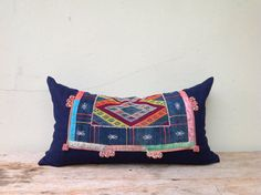 Vintage Ethnic Textile Hand Woven Patch Work by orientaltribe11, $50.00