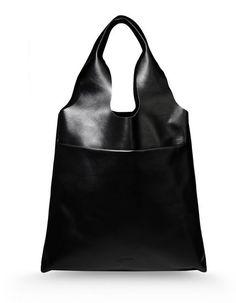 Jill Sander Navy - Large Shoulder Bag